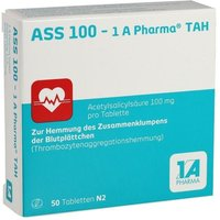 ASS 100-1A Pharma TAH Tabletten von 1 A Pharma GmbH