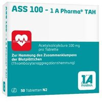 ASS 100 1A Pharma TAH Tabletten von 1 A Pharma