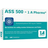 ASS 500 1A Pharma Tabletten von 1 A Pharma