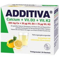 Additiva Calcium + D3 + K2 Granulat von Additiva