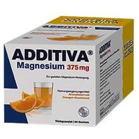 Additiva Magnesium 375 mg Sachets von Additiva
