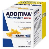 Additiva Magnesium 375 mg Sticks von Additiva