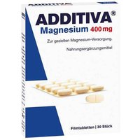 Additiva Magnesium 400 mg Filmtabletten von Additiva
