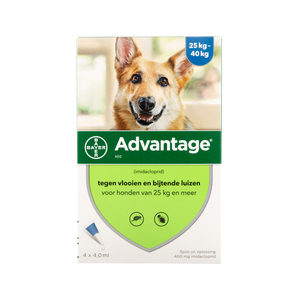 Advantage 400 Hund - 25-40 kg - 4x 4 ml von Advantage