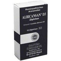 Albicansan D 3 Suppositorien von Albicansan