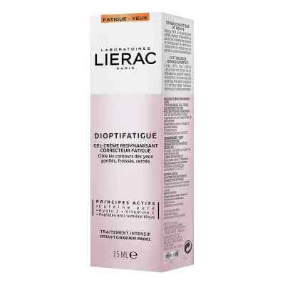 Lierac Dioptifatigue Müde Gel-creme von Ales Groupe Cosmetic Deutschla