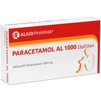 Paracetamol AL 1000 Suppositorien von Aliud Pharma