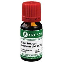 Rhus toxicodendron Arcana LM 18 Dilution von Arcana