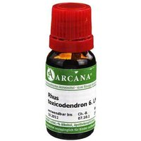 Rhus toxicodendron Arcana LM 6 Dilution von Arcana