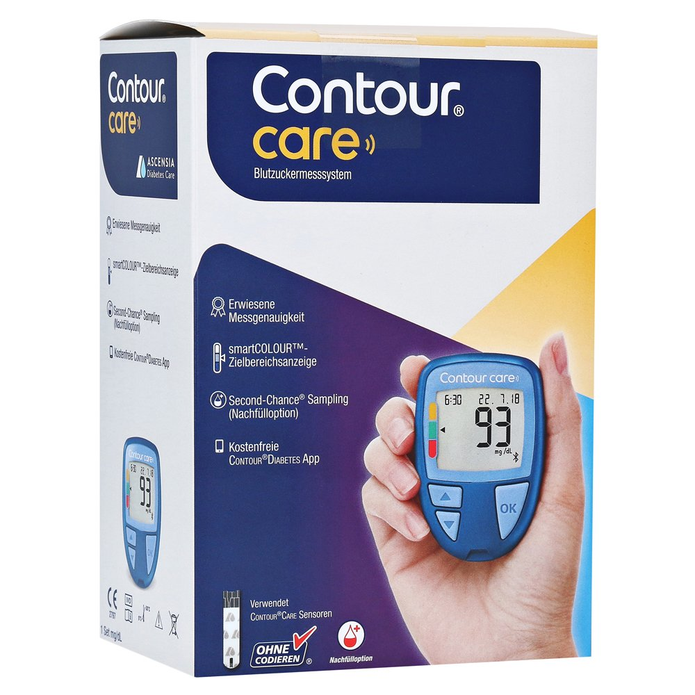 CONTOUR Care Set Blutzuckermesssystem mg/dl 1 Packung von Ascensia Diabetes Care Deutschland GmbH