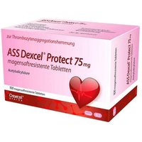 ASS Dexcel Protect 75 mg magensaftresistent Tabletten von Ass Dexcel