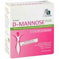 D-Mannose Plus Sticks 2000 mg von Avitale GmbH