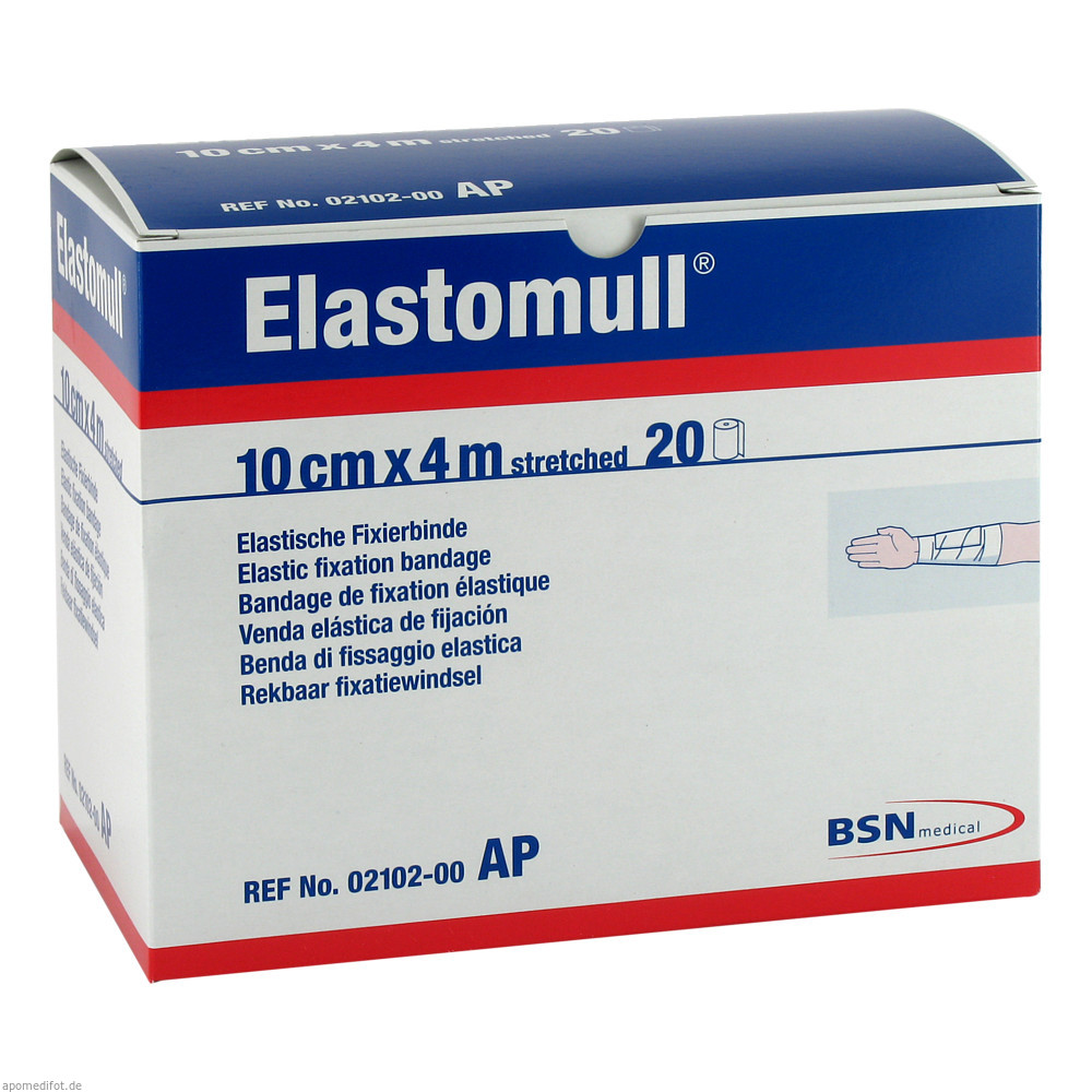 Elastomull 4 m x 10 cm von BSN medical GmbH