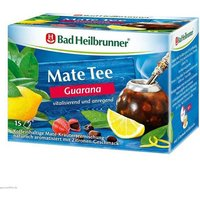 Bad Heilbrunner Tee Guarana Mate Kräuterpower von Bad Heilbrunner