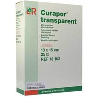 Curapor Wundverband 10x15 cm steril transparent von Bios Medical Services GmbH