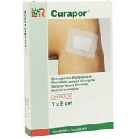 Curapor Wundverband 5x7 cm steril von Bios Medical Services GmbH