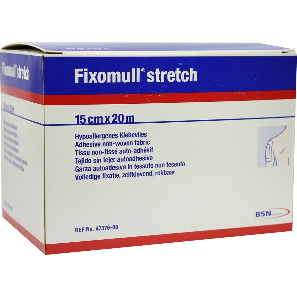 Fixomull Stretch 15 cmx20 m 1 St von Bios Medical Services GmbH