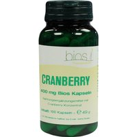 Cranberry 400 mg Bios Kapseln von Bios Medical Services