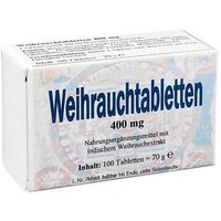 Weihrauch 400 mg Tabletten von Bios Medical Services