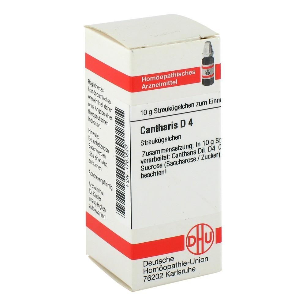 Medikament - Cantharis D 4 Globuli (PZN 01763527) im ...