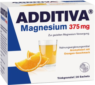 ADDITIVA Magnesium 375 mg Granulat Orange von Dr. B. Scheffler Nachf. GmbH & Co. KG