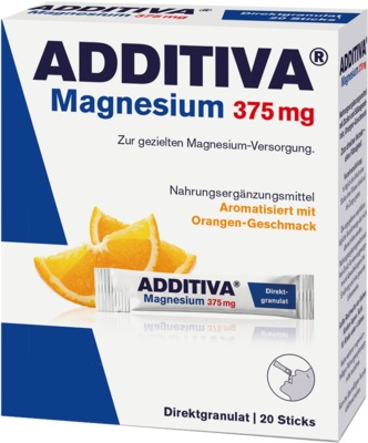 ADDITIVA Magnesium 375 mg Sticks Orange von Dr. B. Scheffler Nachf. GmbH & Co. KG
