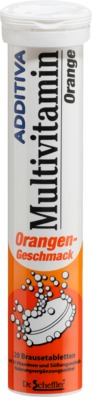 ADDITIVA Multivitamin Orange Brausetabletten von Dr. B. Scheffler Nachf. GmbH & Co. KG