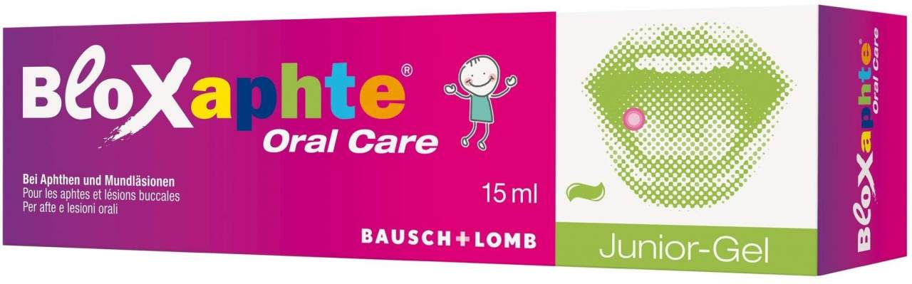 Bloxaphte Oral Care Junior Gel 15 ml von Dr. Gerhard Mann