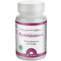B12 Methylcobalamin Mecobalactive Dr. Jacob`s Lut. von Dr. Jacobs Medical