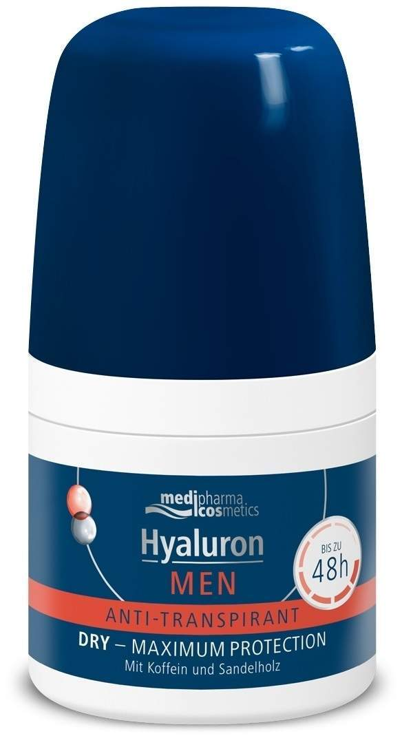 Hyaluron Deo Roll - On Super Men 50 ml von Dr. Theiss Naturwaren GmbH