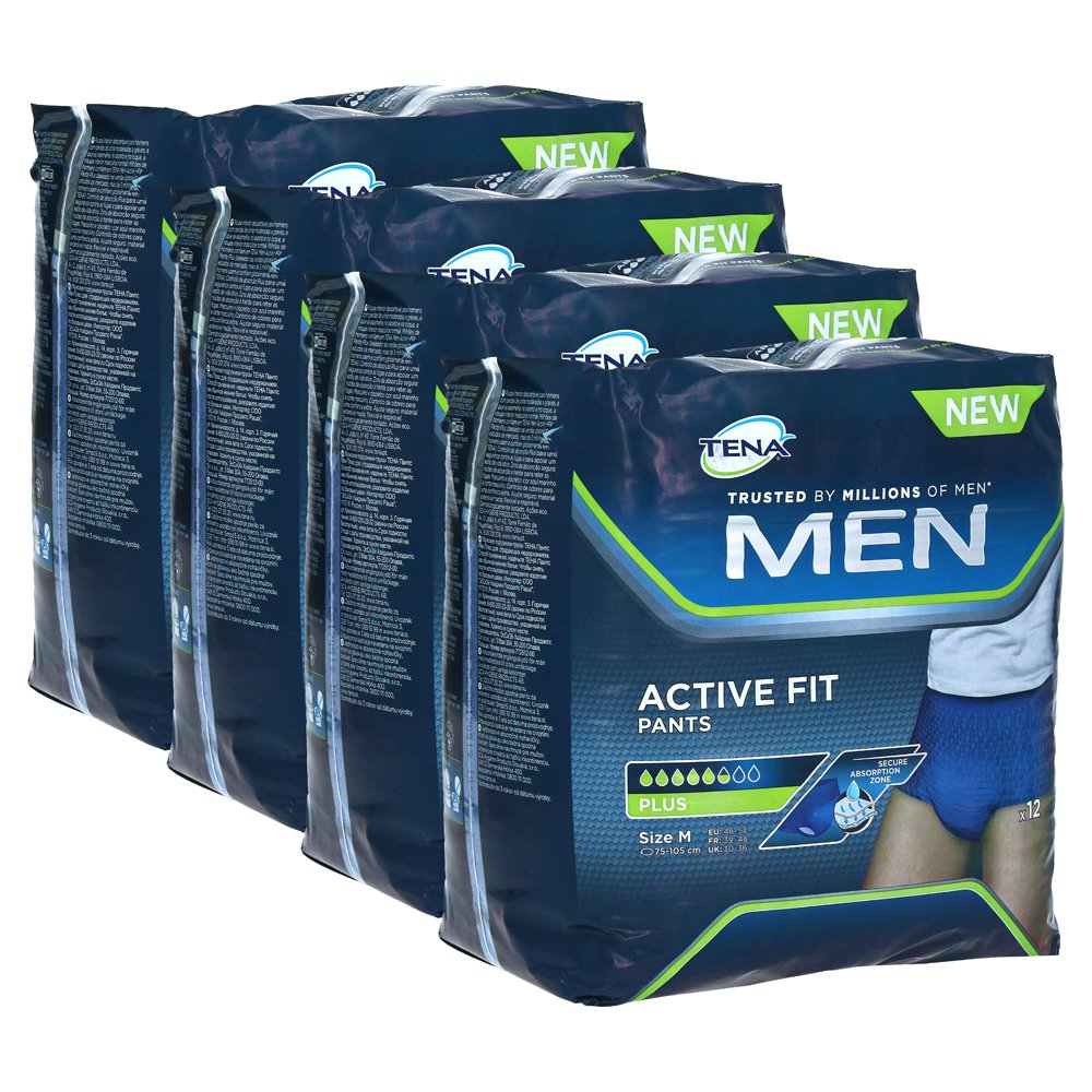 TENA MEN Active Fit Pants Plus M 4x12 Stück von Essity Germany GmbH Health and Medical Solutions