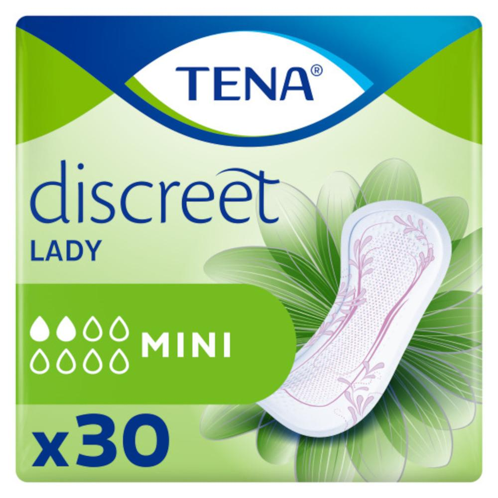 TENA discreet LADY PADS MINI Einlagen von Essity Germany GmbH Health and Medical Solutions