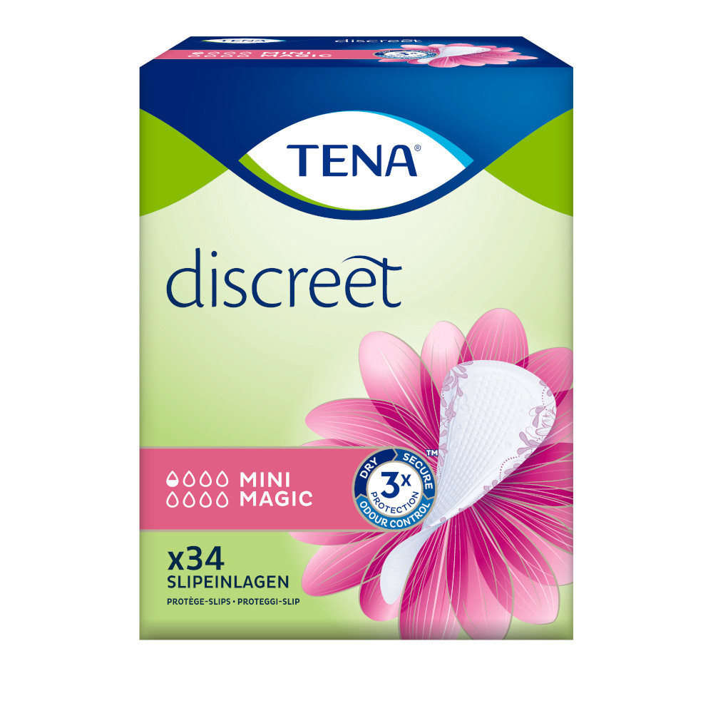 Tena discreet MINI MAGIC Einlagen von Essity Germany GmbH Health and Medical Solutions