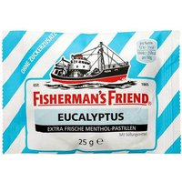 Fishermans Friend Eucalyptus ohne Zucker Pastillen von Fishermans Friend