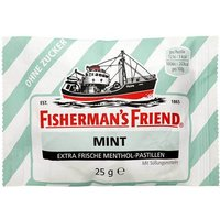 Fishermans Friend mint ohne Zucker Pastillen von Fishermans Friend