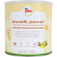 For you Eiweiß Power Vanille von For You eHealth GmbH
