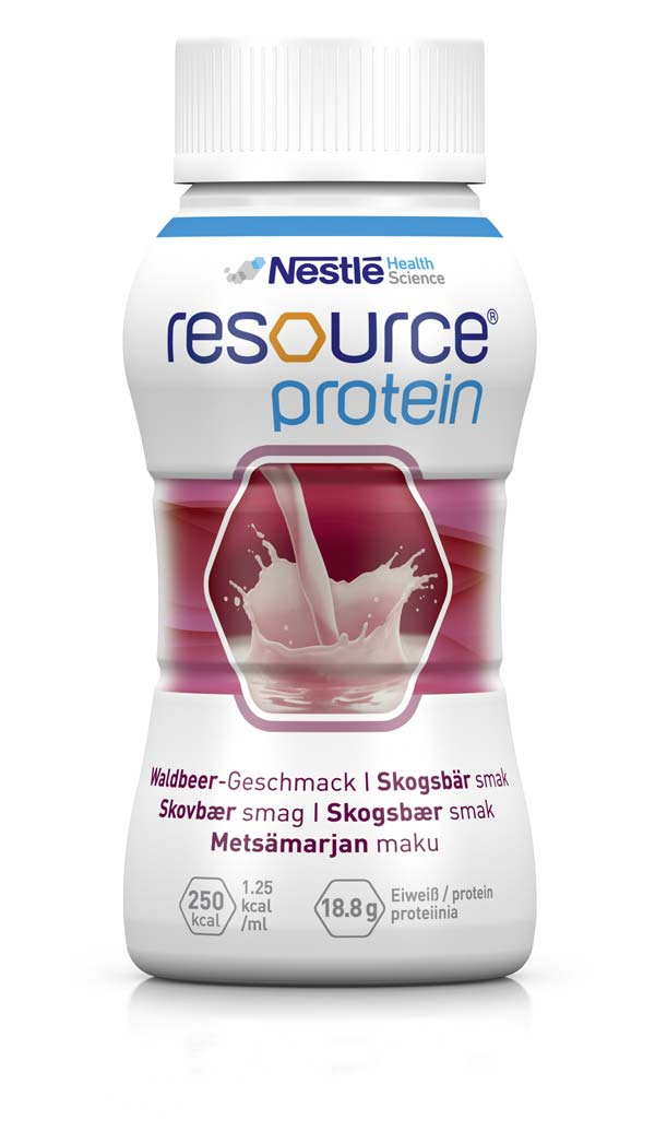 Resource Protein Waldbeere 4 x 200 mL von GHD Direkt GmbH