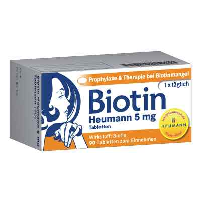 Biotin Heumann 5 mg Tabletten von HEUMANN PHARMA GmbH & Co. Gene