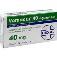 VOMACUR 40 Suppositorien von Hexal AG