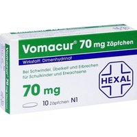 VOMACUR 70 Suppositorien von Hexal AG