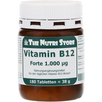 Vitamin B12 1000 µg Forte Tabletten von Hirundo Products