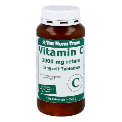 Vitamin C 1000 mg retard Langzeit Tabletten von Hirundo Products
