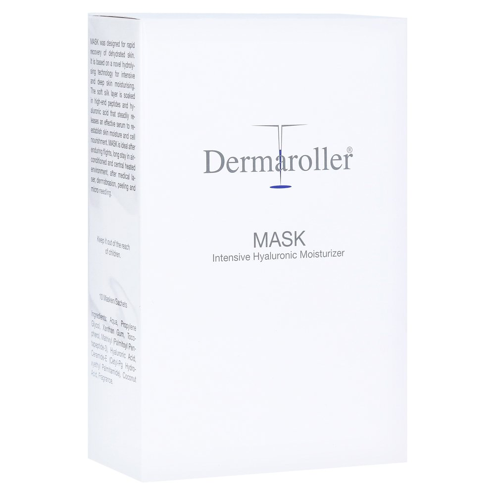 DERMAROLLER Mask 10 Stück von IMP GmbH International Medical Products