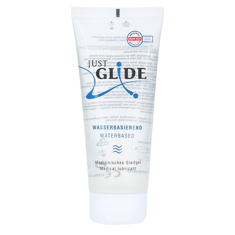 JUST GLIDE med.Gleitgel Water 200 Milliliter von IMP GmbH International Medical Products