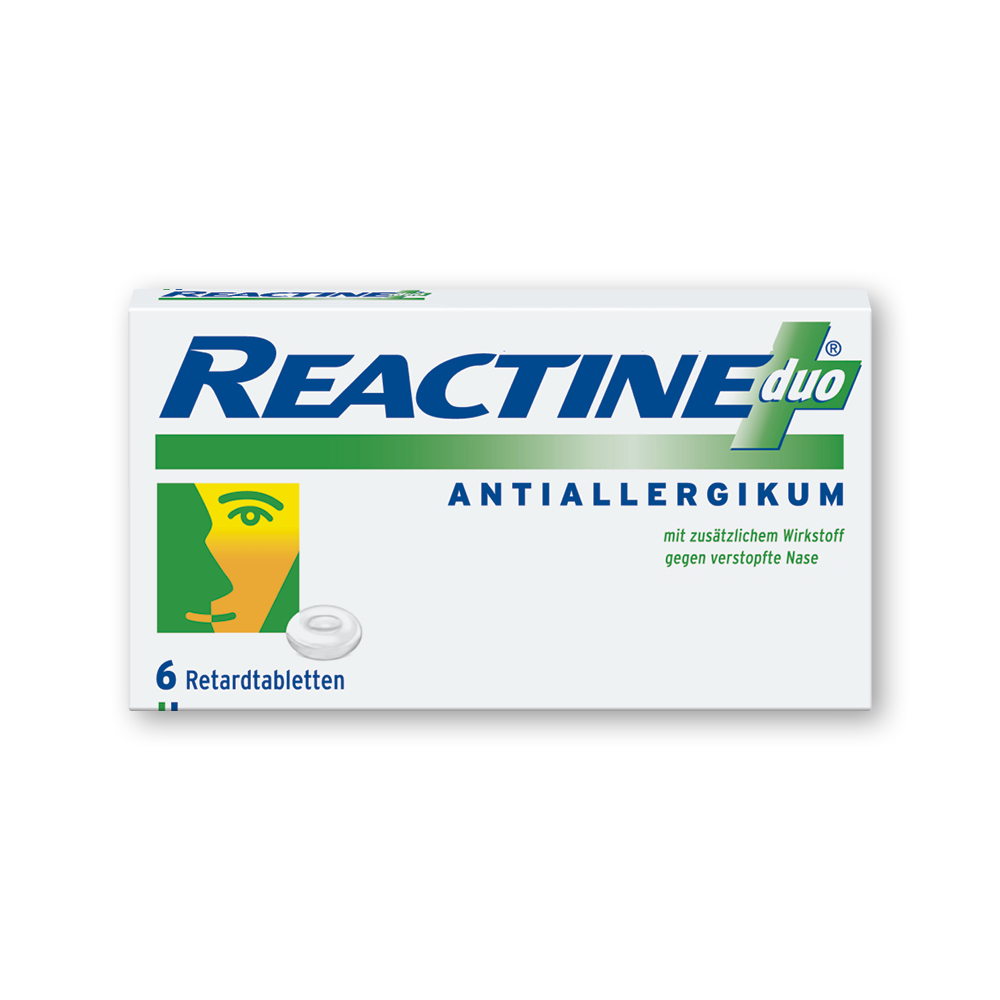 REACTINE duo von Johnson & Johnson GmbH (OTC)