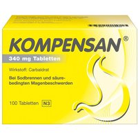 Kompensan Tabletten 340 mg von Johnson&Johnson GmbH-CHC