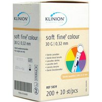 Klinion Soft fine colour Lanzetten 30 G von Klinion