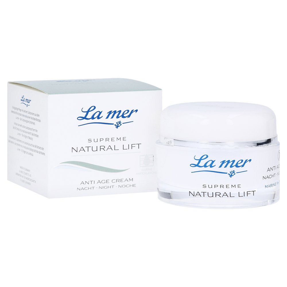 LA MER SUPREME Natural Lift Anti Age Cream Nacht 50 Milliliter von La mer Cosmetics AG