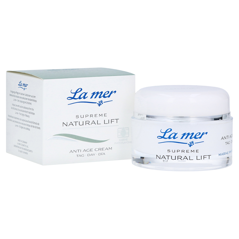 LA MER SUPREME Natural Lift Anti Age Cream Tag 50 Milliliter von La mer Cosmetics AG