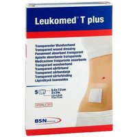 Leukomed transp. plus sterile Pflaster 5x7,2 cm von Leukomed